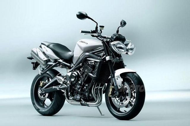 Triumph Street Triple Model Year 2012