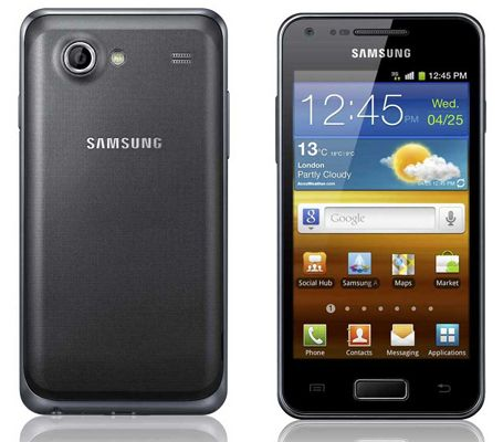 Samsung Galaxy S Advance: smartphone dal display brillante
