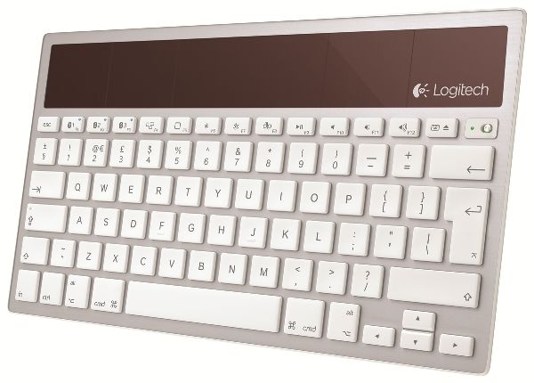 Logitech Wireless Solar Keyboard K760, la tastiera ecologica per Apple