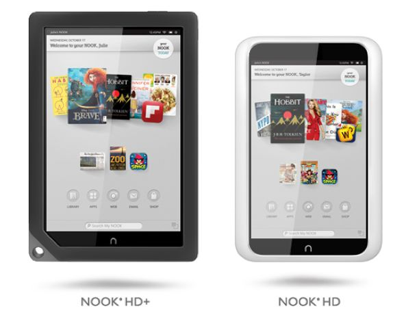 Barnes & Noble Nook HD e HD+: tablet, ereader e anti-iPad