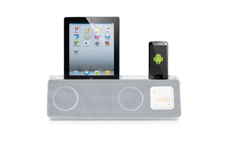 Idee regalo Natale 2012: lo speaker LG per iPhone e Android