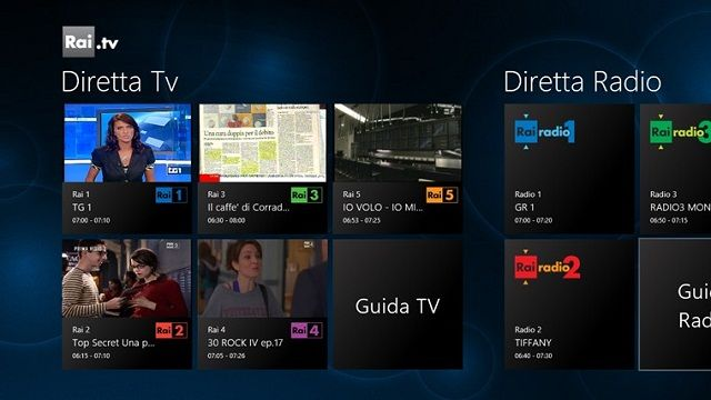 Internet e TV si fondono con le App di Windows 8