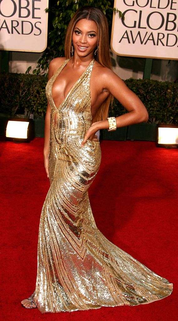 La fantastica Beyoncè Knowles sul red carpet dei Golden Globe