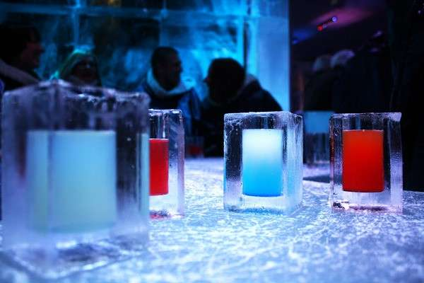 Drink all'Absolut Icebar Stoccolma - Svezia