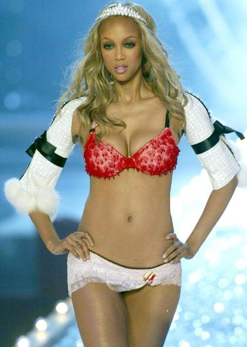 Tyra Banks in intimo