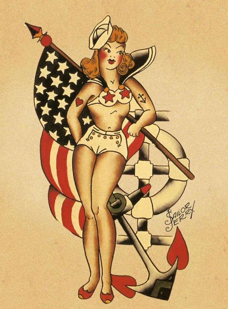 La donna sailor tattoo