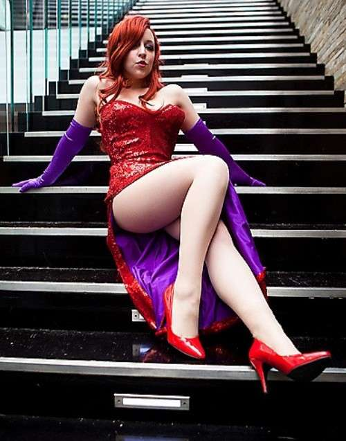 Jessica Rabbit costume Halloween