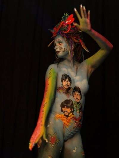 Beatles Bodypaint