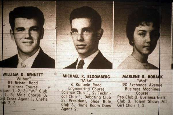 Mike Bloomberg giovane