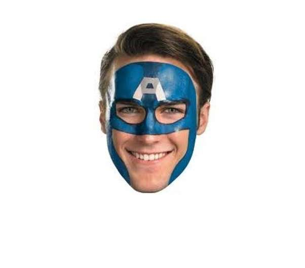 Capitan America make up Carnevale