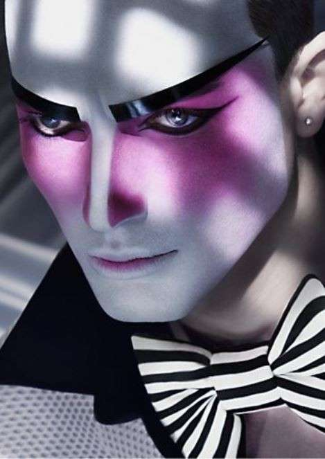 Idea make up uomo per Carnevale