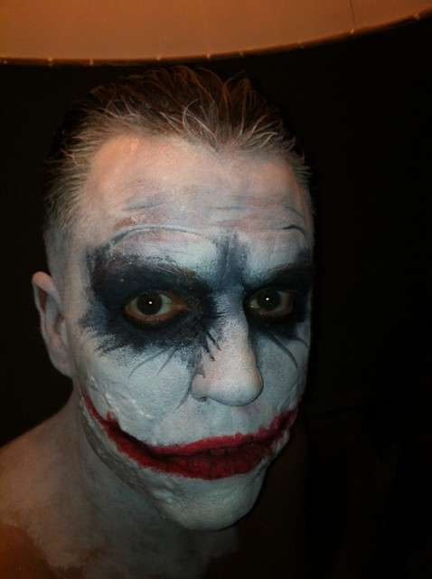 Joker, make up per Carnevale