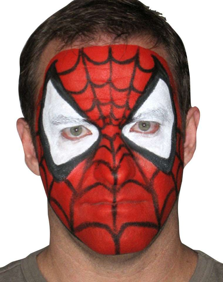 Spiderman make up per Carnevale