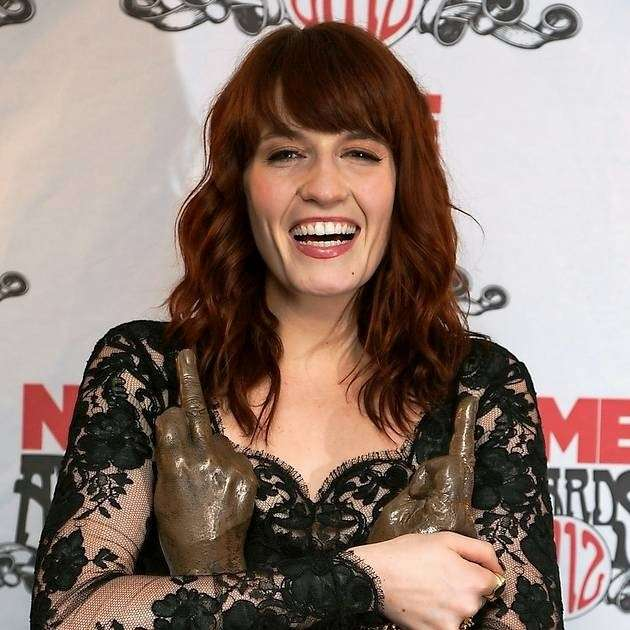 Florence Welch naso