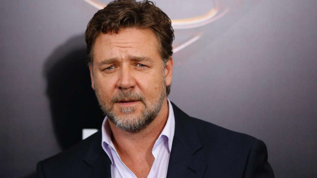 Hair look Russell Crowe