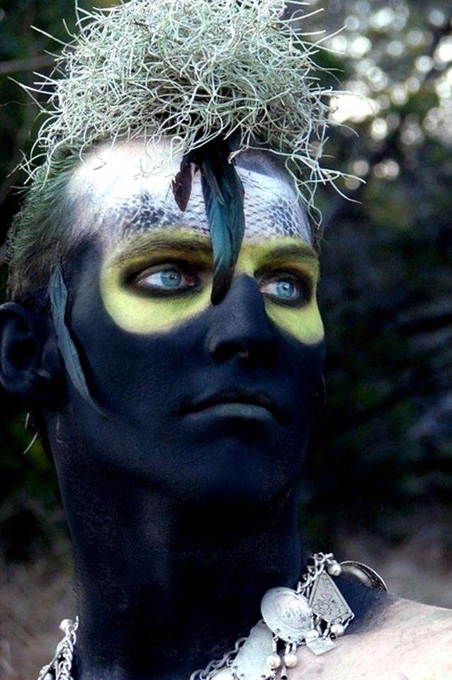 Bird man make up