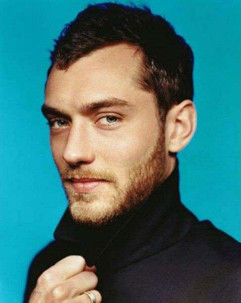 Jude Law hair style