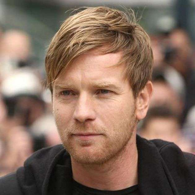 Ewan McGregor hair look