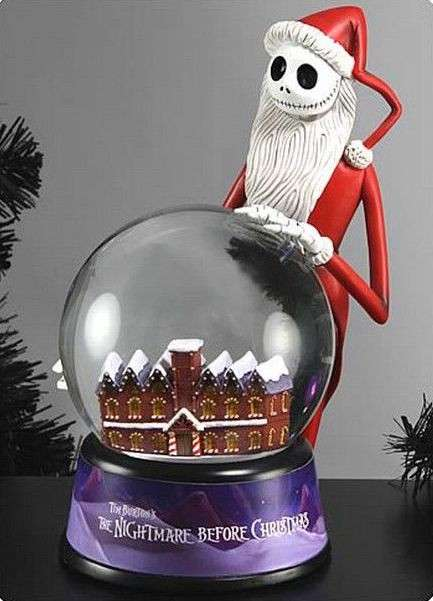 Globo di neve di Nightmare Before Christmas