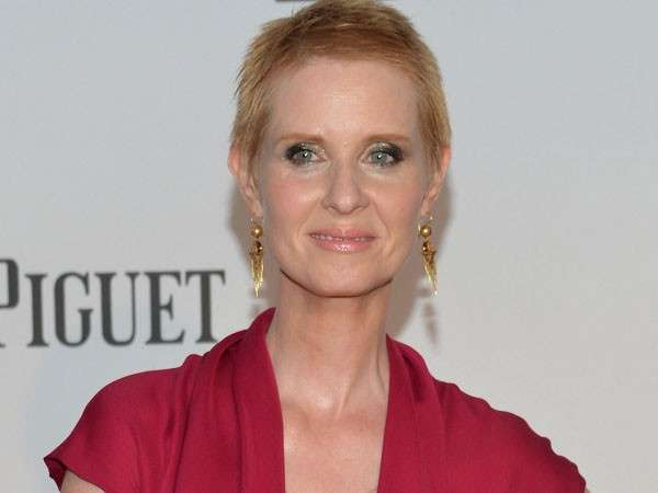 Cynthia Nixon di Sex and The City festeggia 50 anni