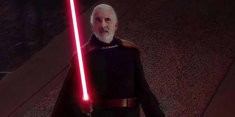 Conte Dooku (Christopher Lee)