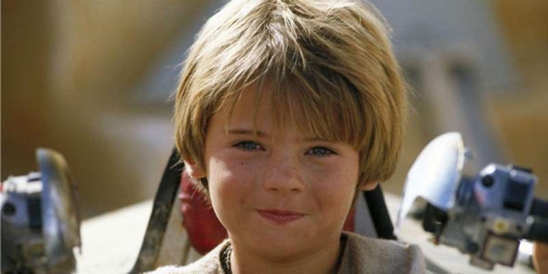 Anakin Skywalker bambino (Jake Lloyd)