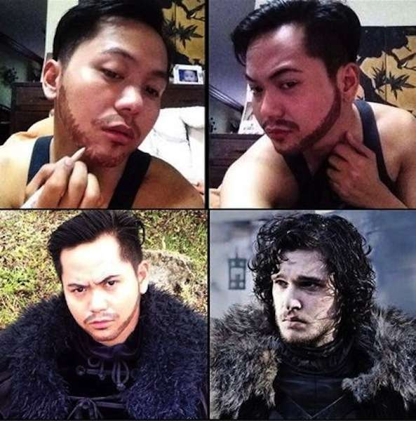 Jon Snow di Game of Thrones