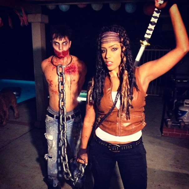 Costume Halloween Walking Dead