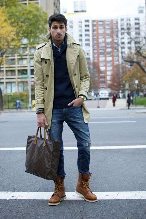 Outfit casual con Timberland