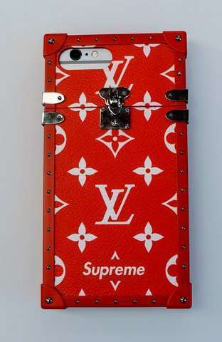 Custodia iPhone Louis Vuitton x Supreme
