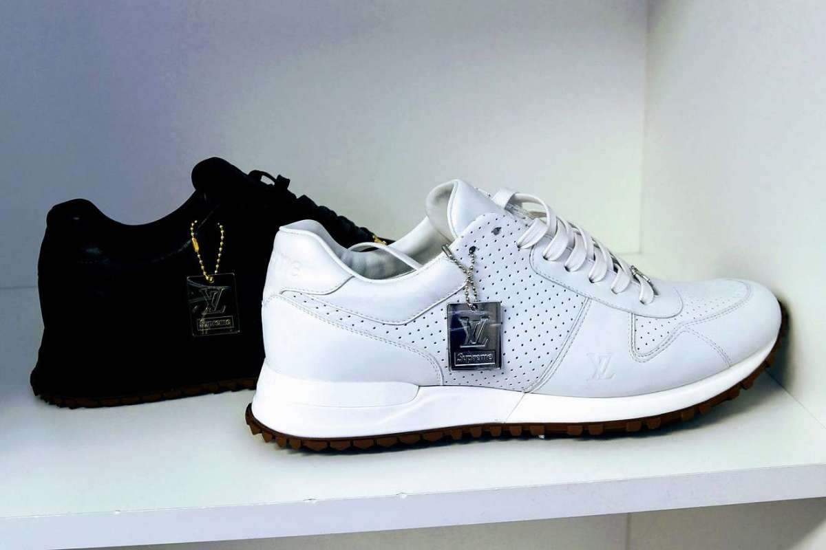 Sneakers Louis Vuitton x Supreme