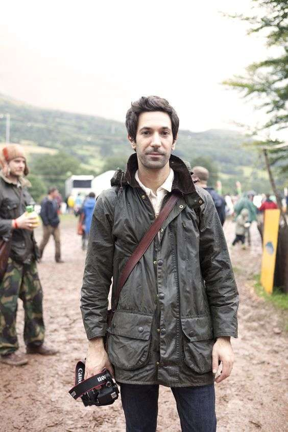 Barbour look