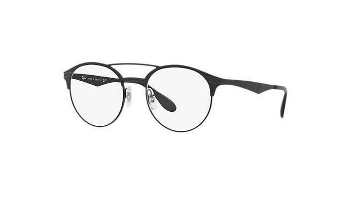 Occhiali Ray-Ban tondi total black