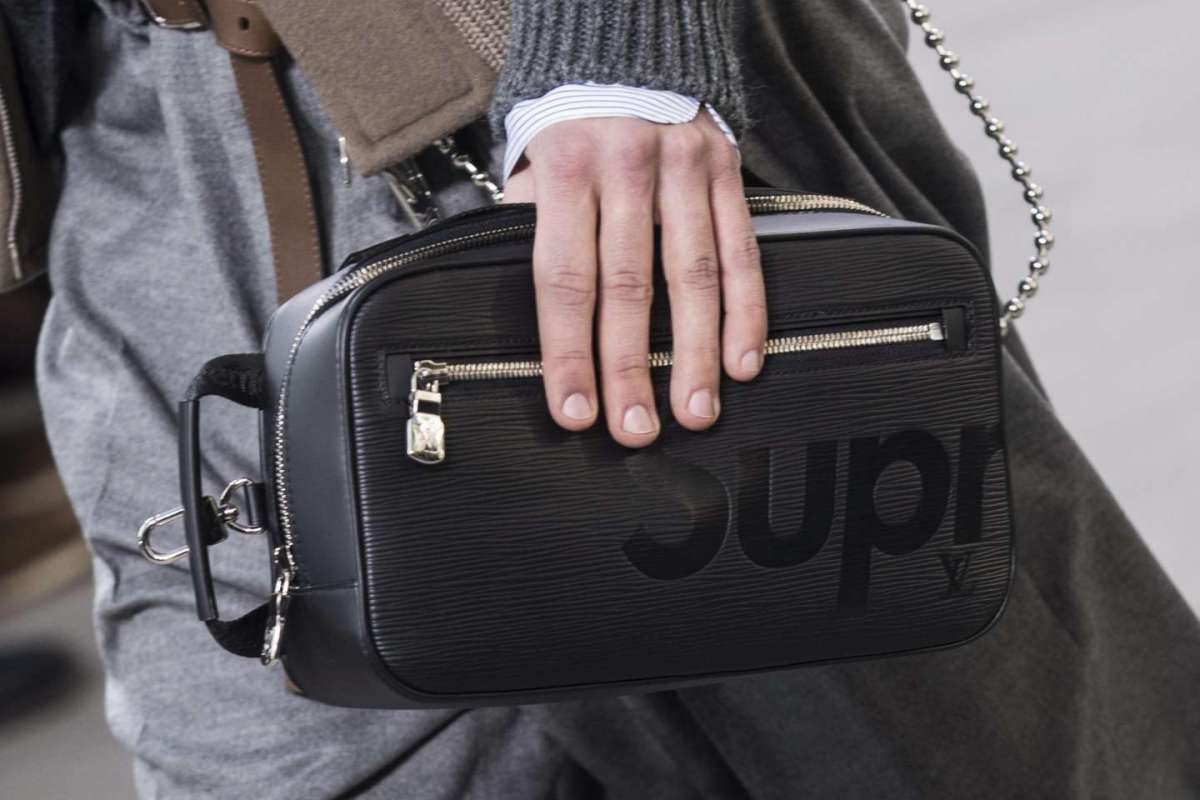 Borsa a mano Louis Vuitton X Supreme