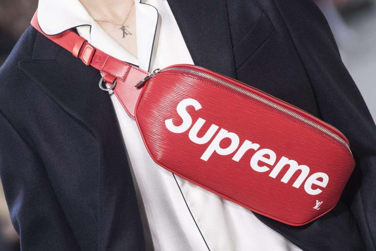 Marsupio Louis Vuitton X Supreme