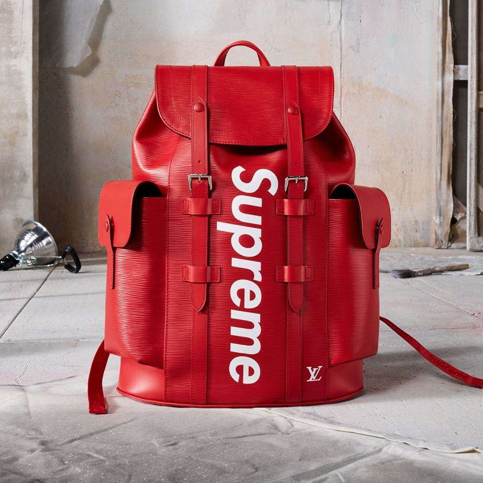 Zaino Louis Vuitton x Supreme