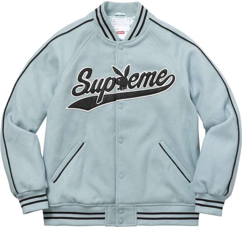 Varsity jacket Supreme e Playboy