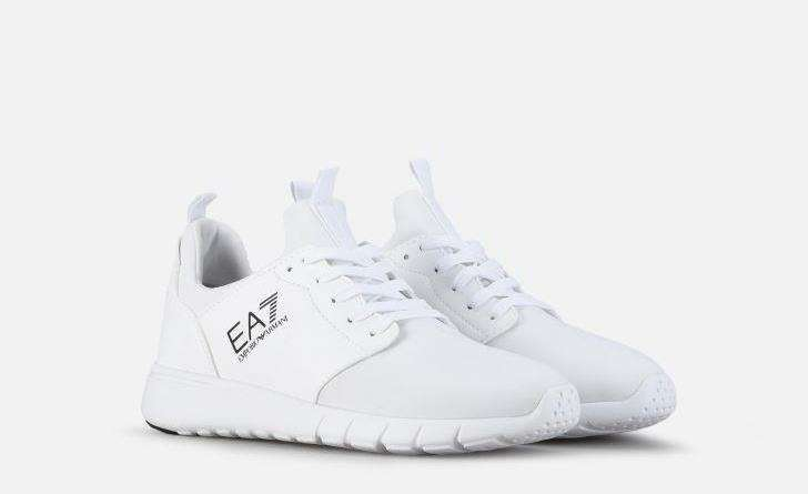 EA7 sneakers bianche