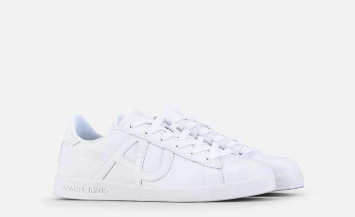 Sneakers bianche Armani Jeans