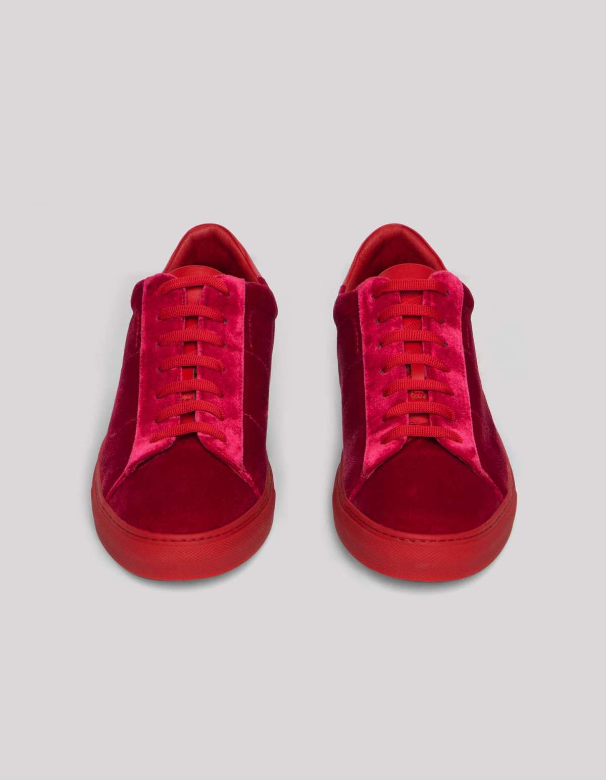 Sneakers in velluto Dondup