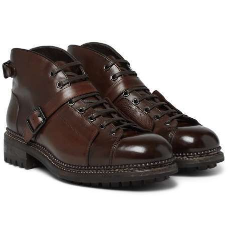 O' Keeffee stivale modello lace up