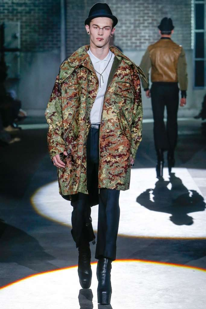 Parka camouflage Dsquared2