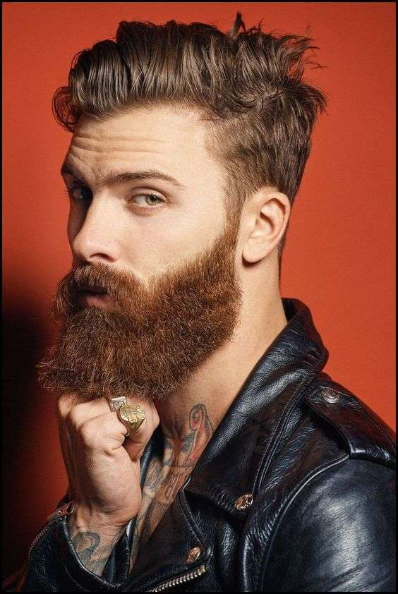 Tendenza barba uomo 2018