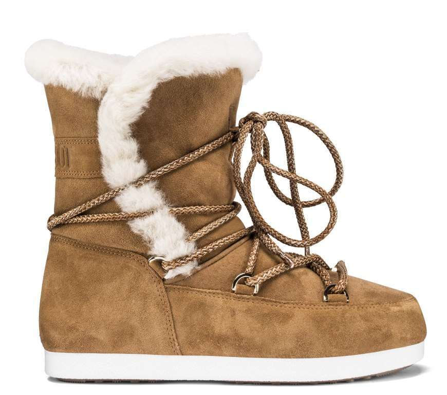 Moon Boot con shearling