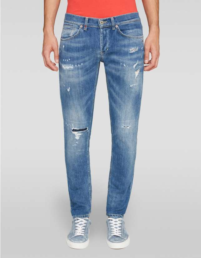Jeans skinny in denim stretch Dondup