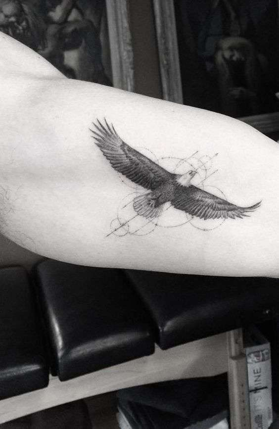 Tattoo aquila