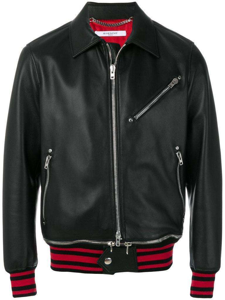 Givenchy bomber di pelle