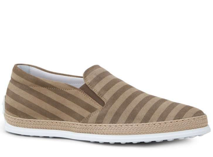 Slip on a righe Tod's