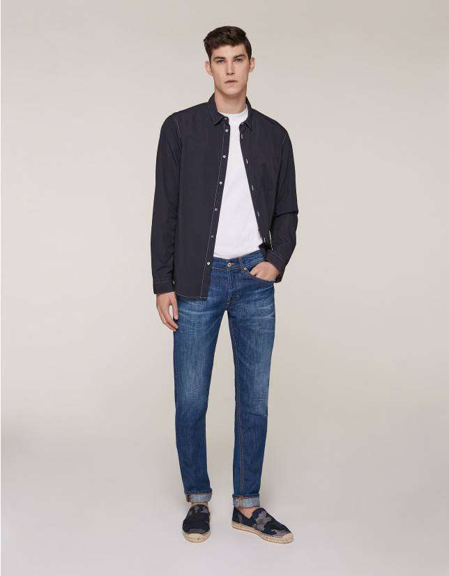Look con jeans Dondup