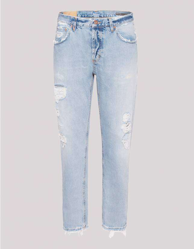 Jeans strappato Dondup